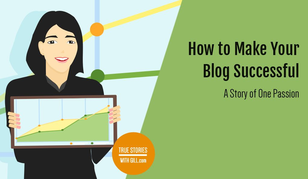 How to make your blog successful. A story of one passion.